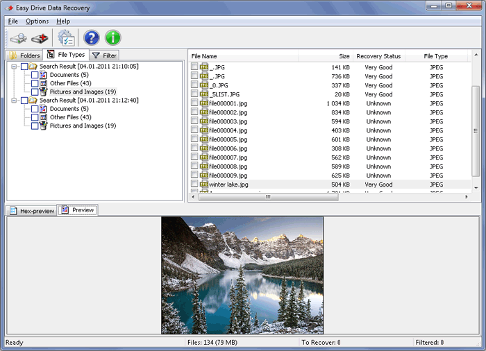 MunSoft Data Recovery Suite Screenshot