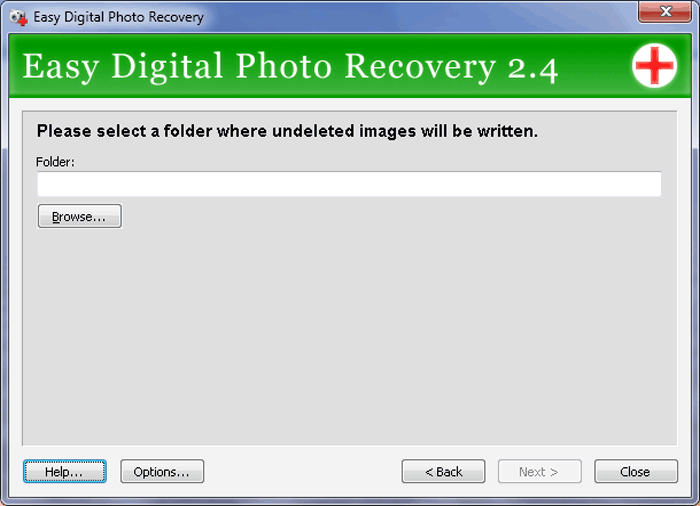 Easy Digital Photo Recovery Screenshot