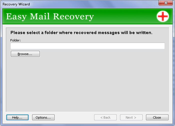 Easy Mail Recovery Screenshot
