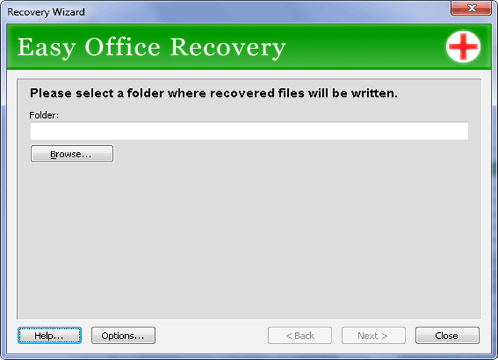 Easy Office Recovery Screenshot